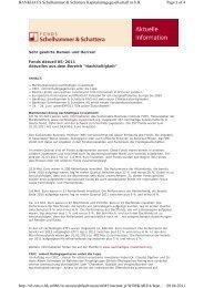 download - Bankhaus Schelhammer & Schattera Aktiengesellschaft