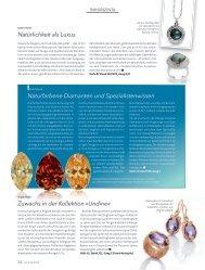 Naturfarbene Diamanten und Spezialistenwissen - Brillante Farben ...