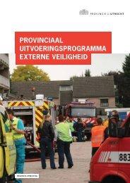 provinciaal uitvoeringsprogramma externe ... - Provincie Utrecht