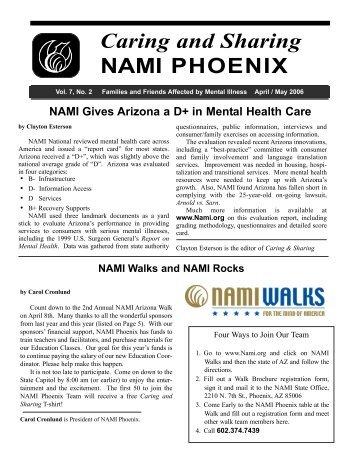 April 2006 - NAMI Phoenix & East Valley