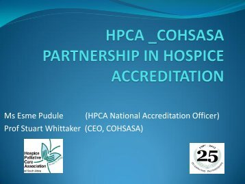 Partnerships in Hospice Accreditation.pdf - Hospice Palliative Care ...