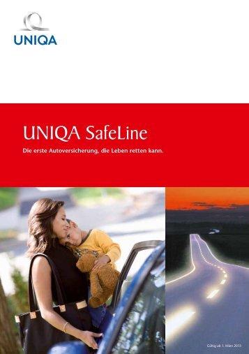 Folder UNIQA SafeLine