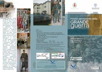 Museo della Grande Guerra - Valsugana