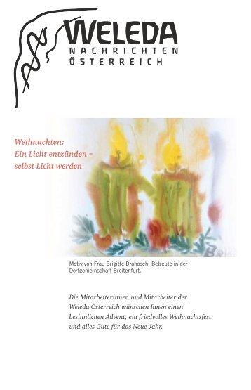 Ausgabe Weihnachten 2005 - Weleda