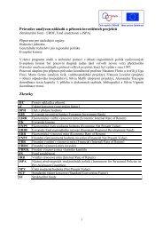 Příloha B2 - Metodika pro zpracování Analýzy nákladů a ... - Praha.eu
