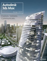 Autodesk® 3ds Max® - A Soft 1 Company Limited