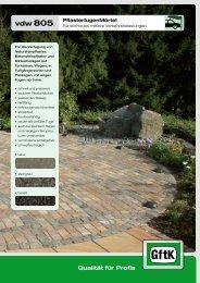 Datenblatt vdw 805.pdf - Raiss Baustoffe: Home