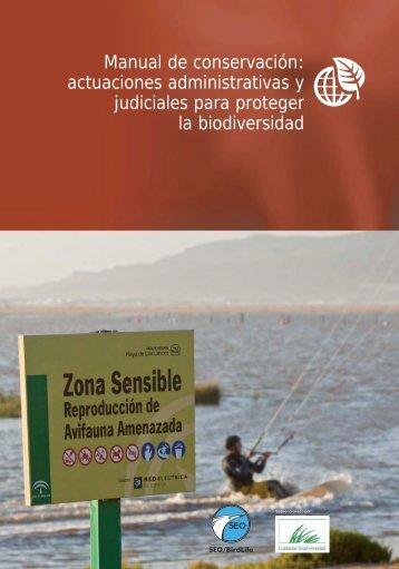 Actuaciones administrativas y judiciales para proteger la biodiversidad