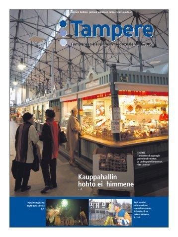 Tampere-lehti 4/2005 - Tampereen kaupunki