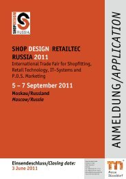 shop design retailtec russia 2011