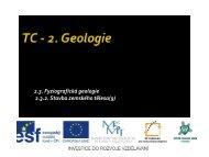 Stavba zemského tělesa - Projekt EU