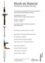 Wittener Tagung 2012 Flyer vorne.ai - Universität Witten/Herdecke