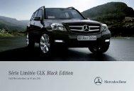 GLK Black Edition - Mercedes-Benz France