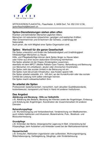SPITEX DL 2010 zusammen - Gemeinde Berg am Irchel
