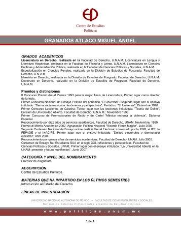 granados atlaco miguel ángel - Facultad de Ciencias Políticas y ...