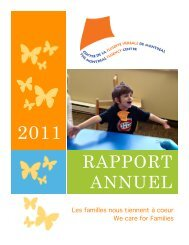 Rapport annuel 2011 - Montreal Fluency