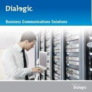 Dialogic business productivity - messagenet.net