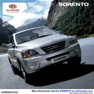 Catálogo KIA Sorento - enCooche.com