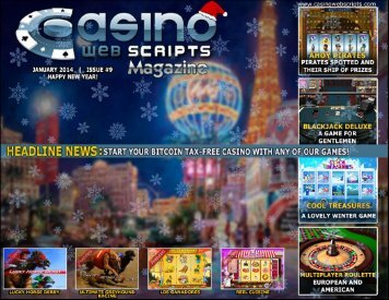 Products Catalogue PDF - CasinoWebScripts