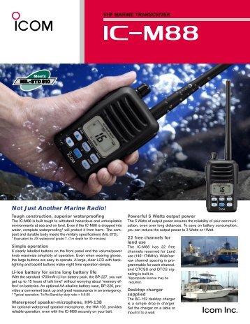 spec sheet - Universal Radio, Inc.
