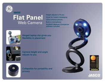 Flat Panel - Jasco Products