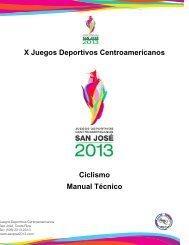 Ciclismo - Comite Olimpico Guatemalteco