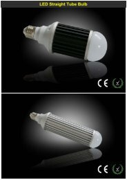 LED Straight Tube Bulb(Melody-Lighting) - Melody-lighting.com