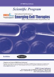 Emerging Cell Therapies - OMICS Group