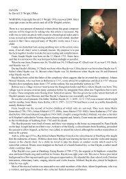 Franz Josef Haydn - Wrightmusic.net