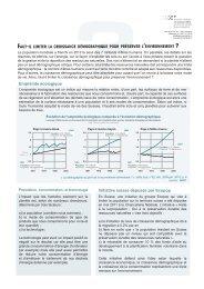 Faut-il limiter la croissance démographique - Jugend Debattiert