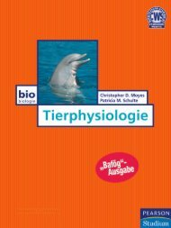 Tierphysiologie  - *ISBN 978 ... - Pearson Studium