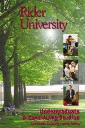Untitled - Rider University