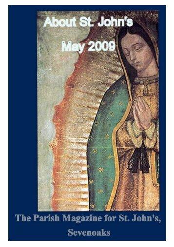 May 2009 edition (PDF 4.61MB) - The Church of St John The Baptist ...