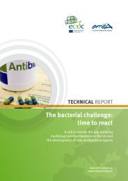 The bacterial challenge: time to react - ECDC - Europa