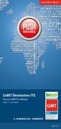 CeBIT Destination ITS - Landesinitiative Telematik Niedersachsen
