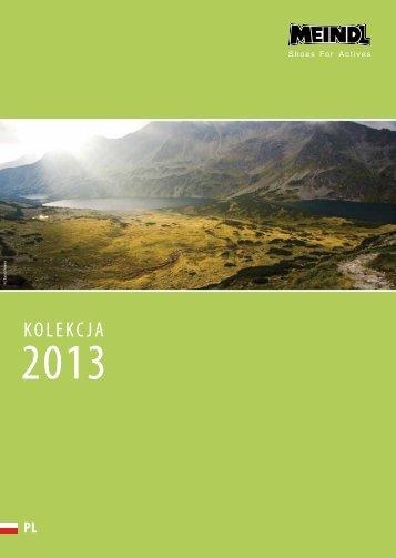 Katalog Meindl wiosna/lato 2013