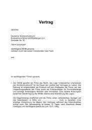 Vertrag - Deutscher Kinderschutzbund Schorndorf/Waiblingen eV