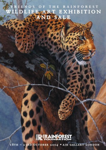Wildlife Art Catalogue - ebook.qxd - Rainforest Foundation UK
