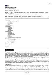 ausführliche PSYNDEX Tests-Beschreibung - ZPID