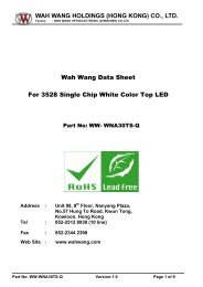 WAH WANG HOLDINGS (HONG KONG) - Ropla Elektronik Sp. z oo