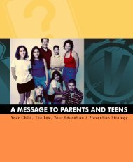 Parent/Teen Handbook - City of Scottsdale