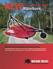 Razorback® - Bush Hog