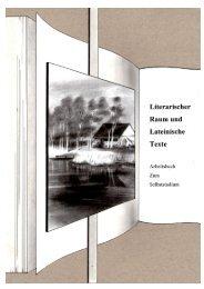 Literarischer Raum und lateinische Texte - Seminar für Klassische ...