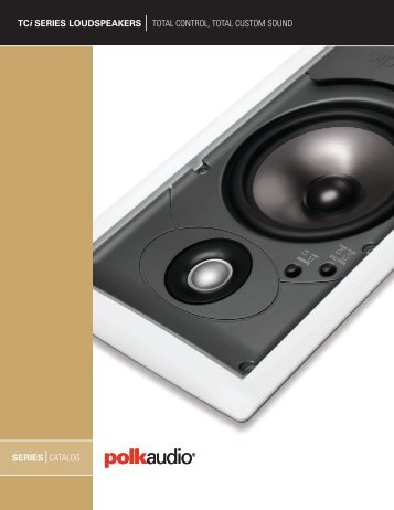 TCi Catalog English - Polk Audio