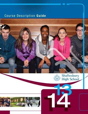 Course Description Guide - Pembina Trails School Division