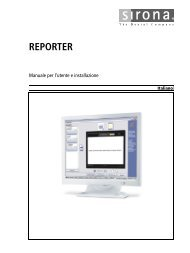 REPORTER - Sirona Support