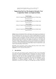 Supporting End-User Development through a New Composition Model