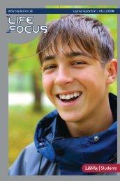 Life Focus KJV Learner Guide Fall 2009 - LifeWay