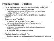 03 Prädikatenlogik - Syntax, Semantik, Substitution und Unifikation