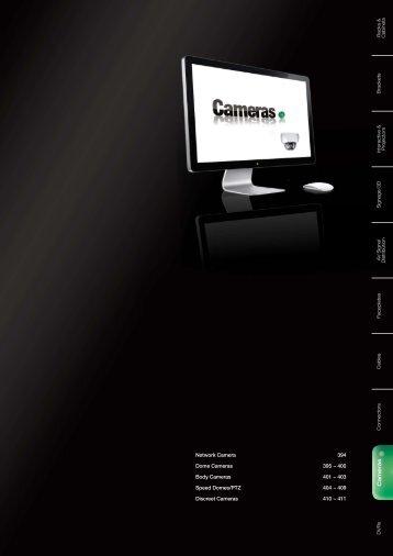 403 Speed Domes/PTZ 404 ~ 409 Discreet Cameras ... - CIE-Group